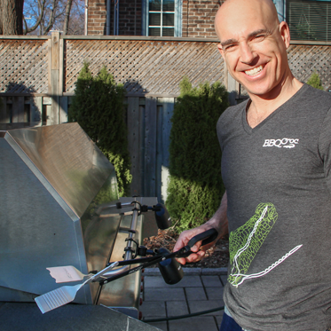 Introducing the inventor of BBQ Croc, Nicolas Vallee.