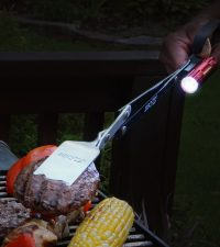 Grill in the dark with BBQ Croc