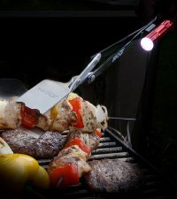 BBQ Croc flashlight Night time grilling has never been so easy.